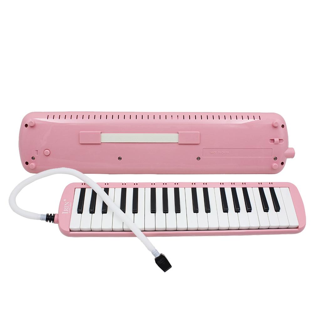 37pian_new 37 key pink melodica pianica keyboard mouthpiece music