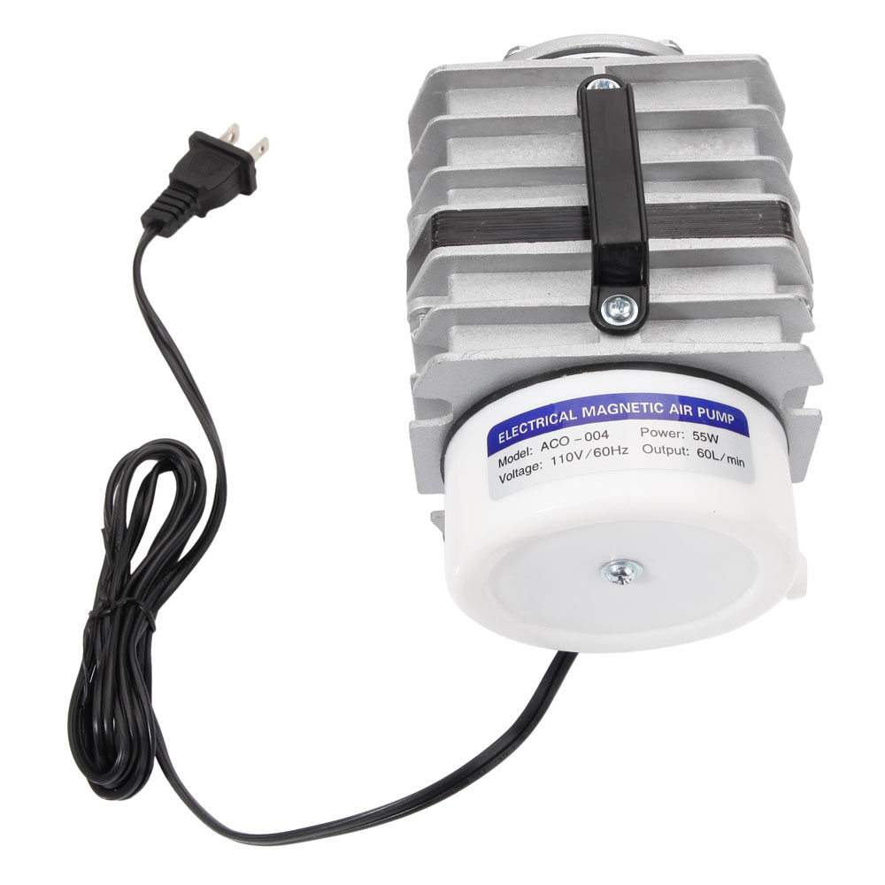 55w commercial electric magnetic air pump aquarium for Hydroponic air pump