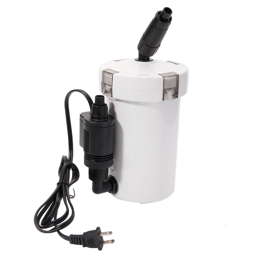 Hw 602b 106gph ultra mute aquarium fish tank filter system for Fish tank filtration systems