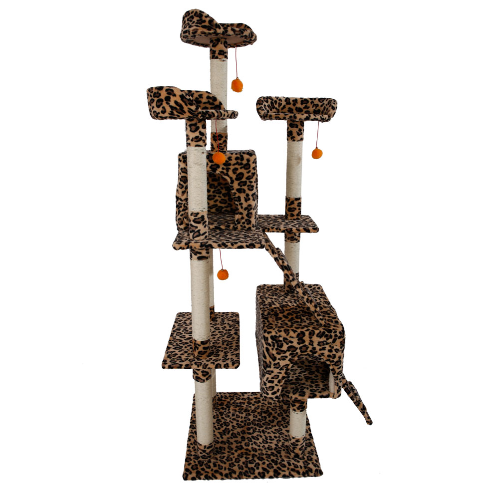 new 20 72 cat tree tower condo furniture scratching post. Black Bedroom Furniture Sets. Home Design Ideas