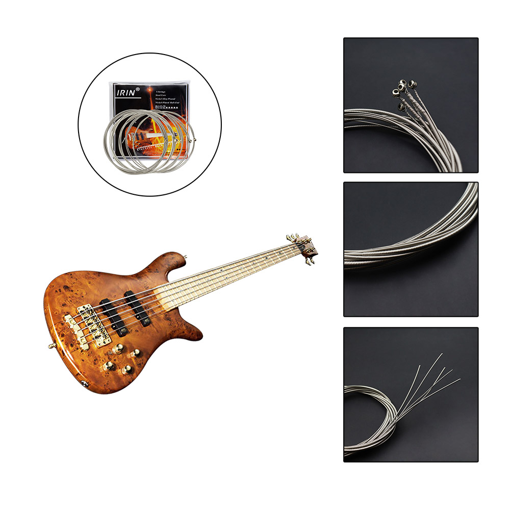acoustic bass strings set for 5 string acoustic bass guitar. Black Bedroom Furniture Sets. Home Design Ideas