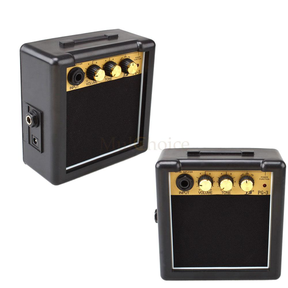 new gt 3w electric guitar practice amplifier amp powered by 9v battery adapter ebay. Black Bedroom Furniture Sets. Home Design Ideas